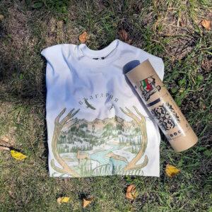 тениска за подарък с кутия