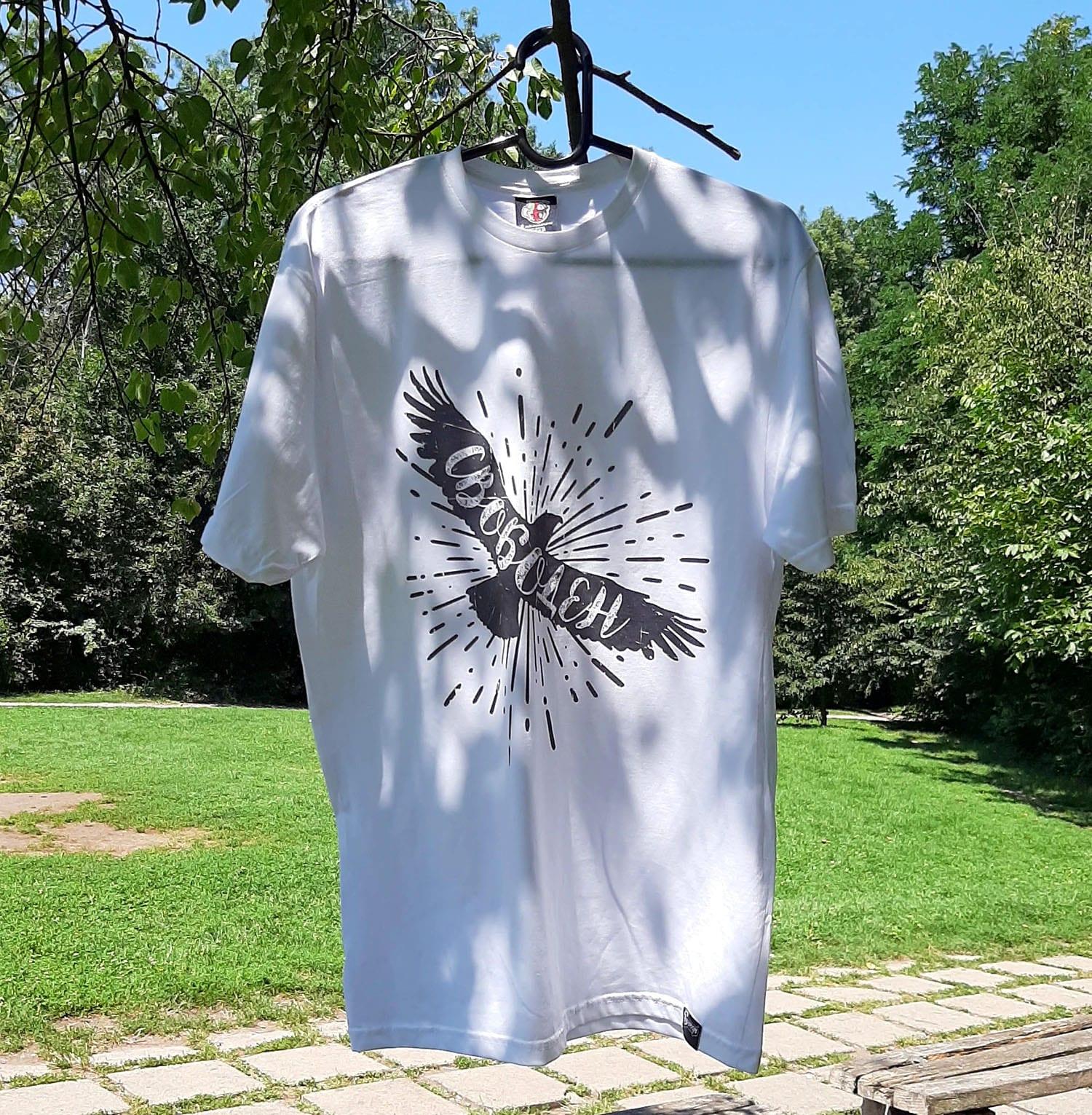 тениска с орел и надпис