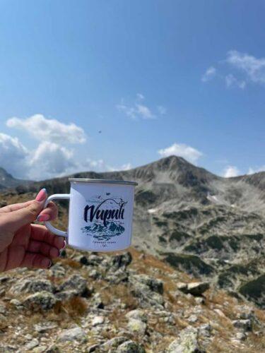 """Канче с илюстрация и текст """"Пирин планина"""" 360 мл. photo review"""