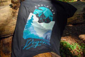 Тениска в гората