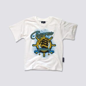 бургаска бяла тениска за деца