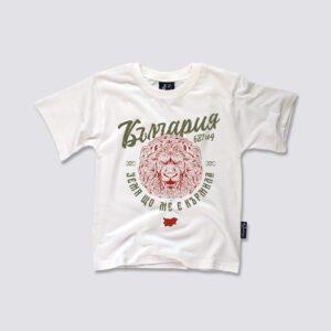 детска тениска българия стари цветове