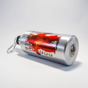метална бутилка с мечка планина