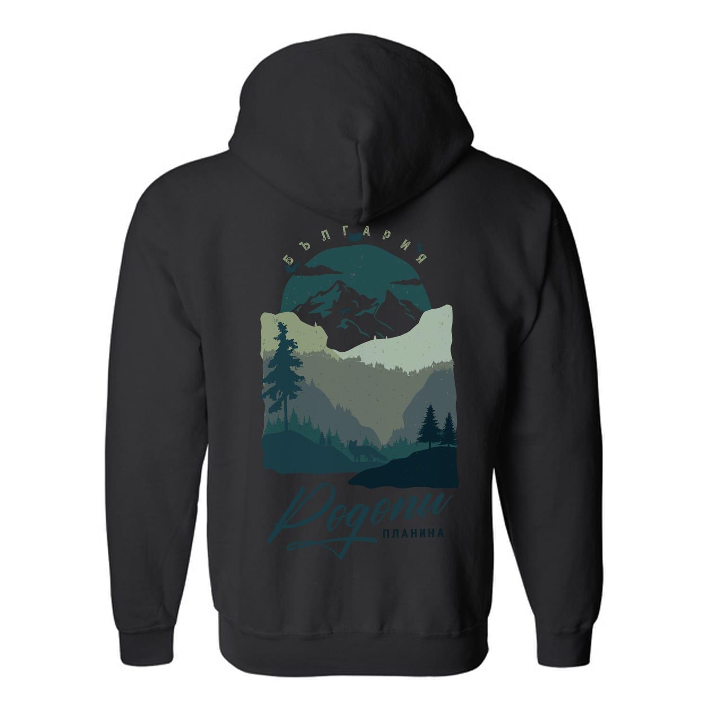 мъжки суитшърт родопи планина син черен