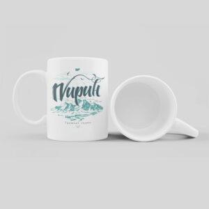 чудна керамична пирин планина чаша