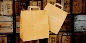 крафт торбичка