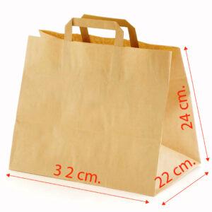 крафт торбичка размери